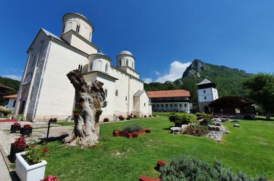 Konaci Manastira Mileševa
